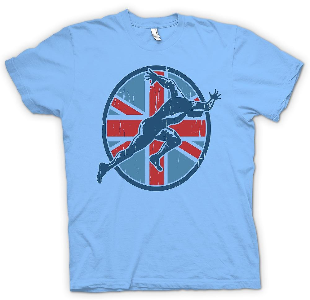 Mens T-shirt - Team GB - Running - Sprint