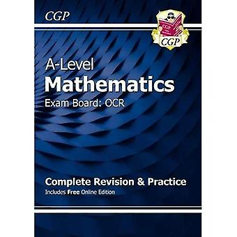 New A-Level Maths for OCR: Year 1 & 2 Complete Revision & Practice with Online Edition