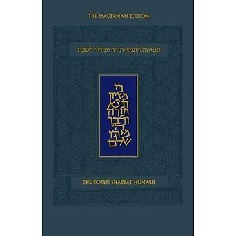 Koren Shabbat Humash, Standard Size, Ashkenaz, Hebrew/English
