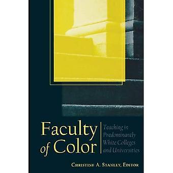 Fakultät für Farbe: Unterricht in überwiegend weiss Colleges und Universitäten (JB-Anker)
