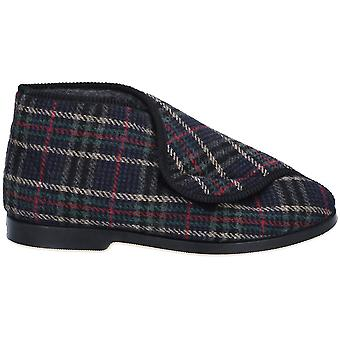 GBS Medical Mens William Great British Super Cosy Slippers