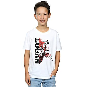 Marvel Boys X-Men Split Old Man Logan T-Shirt