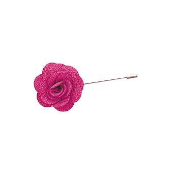 Dobell Mens Flower Lapel Pin for Suit, Jacket, Blazer, Wedding Accessory