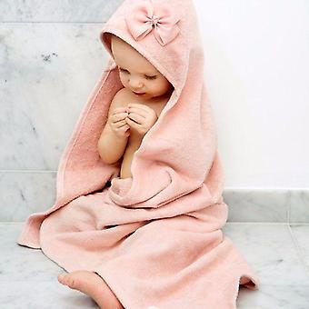 Elodie details - hooded towel - powder pink
