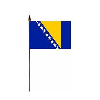 Bosnia & Herzegovina Hand Held Flag