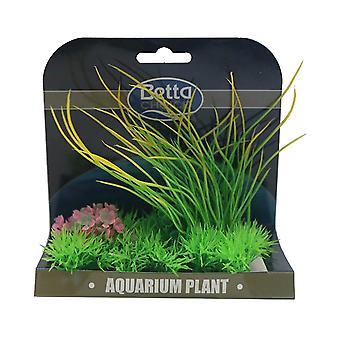 Betta Choice Medium Plant Mat - Green, Yellow & Pink