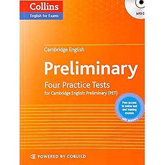 Öva tester för Cambridge engelska: preliminära: PET (Collins Cambridge engelska) (Collins engelska för tentor)
