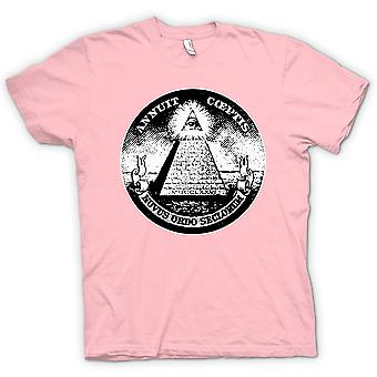Mens T-shirt - Illuminati - Conspiracy Dollar