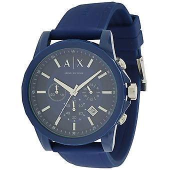 Armani Exchange Active Chronograph Rubber Mens Watch AX1327