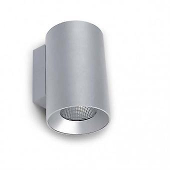LED buiten grote muur licht grijs Ip55