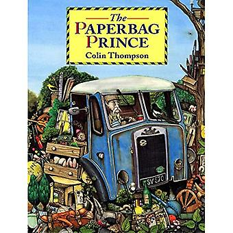 Den paperbag Prince (Red Fox bilder böcker)