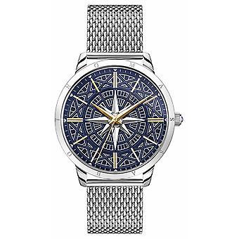 Thomas Sabo | Men's Rebel Spirit Compass | Blue Dial | Mesh Bracelet | WA0350-201-209-42