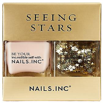 Nails Inc Nail polsk Duo-Seeing Stars Collection (11630)