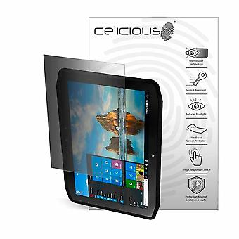 Celicious Privacy 2-Way Portrait Anti-Spy Filter Screen Protector Film Compatible with Zebra XSLATE R12