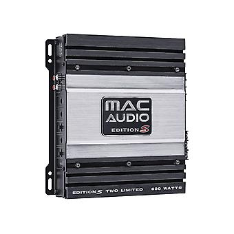 B goods Mac audio edition S two limited, 2-channel power amplifier