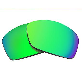 Replacement Lenses Compatible with OAKLEY Hijinx Polarized Green Mirror