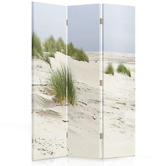 Room Divider, 3 Panels, Single-Sided, Canvas, Sand Dunes
