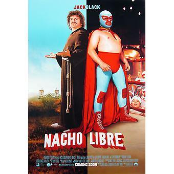 Nacho Libre (kaksipuolinen Regular Style B) alkuperäinen elokuva juliste