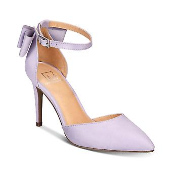 Material Girl Womens Pamer Faux Suede Bow Pumps