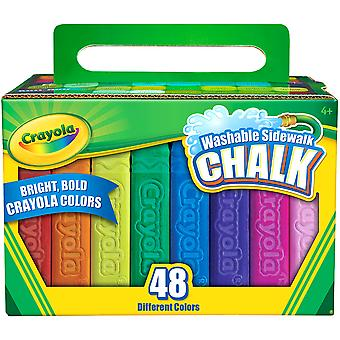 Crayola Sidewalk Chalk 48Pc 51 2048