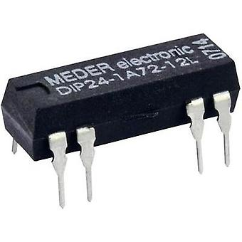 Reed relay 1 maker 12 Vdc 1 A 10 W DIP 8