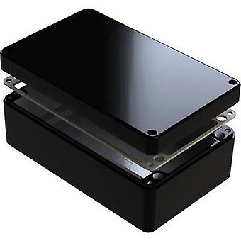 Universal casing 220 x 120 x 90 Aluminium Black Deltron Enclosures 1 pc(s)