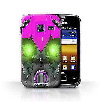 STUFF4 Case/Cover for Samsung Galaxy Y Duos/S6102/Bumble-Bot Purple/Robots