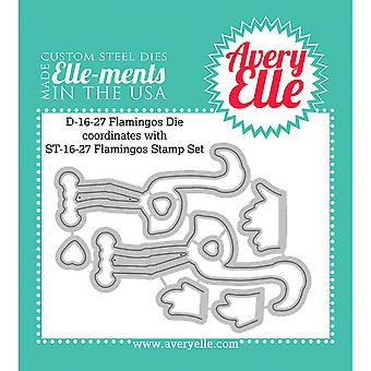 Elle-Ments Dies-Flamingos D1627