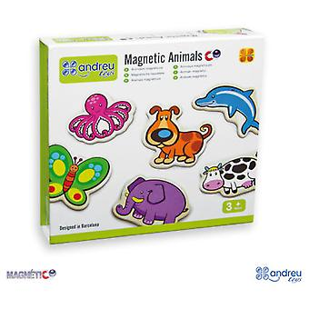 Andreu Toys 20 Animals - Magnetics - 8 Cm (Kids , Toys , Table Games , Others)