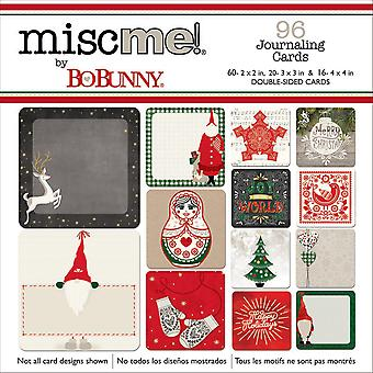 Misc Me Pocket Squares Journaling Cards 96/Pkg-Merry & Bright 20326668