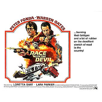 Race With The Devil From Left Peter Fonda Warren Oates 1975 Tm & Copyright  20Th Century Fox Film CorpCourtesy Everett Collection Movie Poster Masterprint