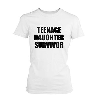 Teenage Daughter Survivor Graphic T-Shirt - Cute Mother's Day Gift Idea