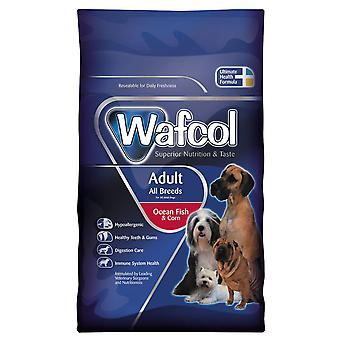 Wafcol voksen fisk & majs 2,5 kg