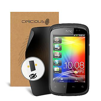 Celicious Privacy HTC Explorer A310E 2-Way Visual Black Out Screen Protector