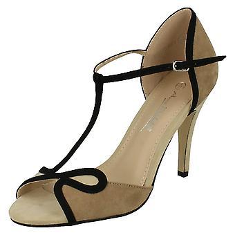 Ladies Anne Michelle T-Bar Sandals F10573