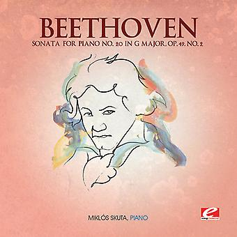 L.V. Beethoven - Beethoven: Sonata voor Piano nr. 20 in G majeur, Op. 49-nr.2 [CD] USA import