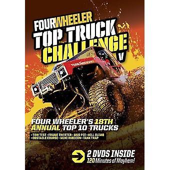 Fire Wheeler toppen lastbil udfordring V [DVD] USA import