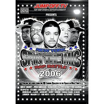 Spin Mic: New York Rap Battle 2006 Disc 2 [DVD] USA import