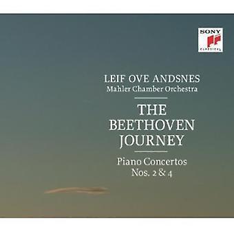 Leif Ove Andsnes - Beethoven: Klaver koncerter No.2 & 4 [CD] USA import
