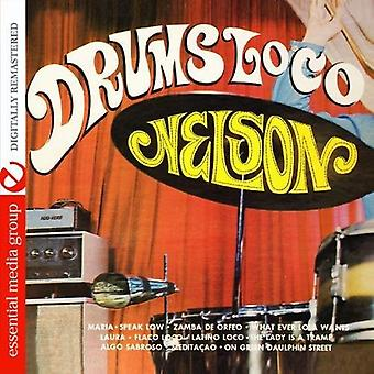 Nelson Padron - Drums Loco [CD] USA import