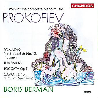 S. Prokofiev - Prokofiev: Complete Piano Music, Vol. 9 [CD] USA import