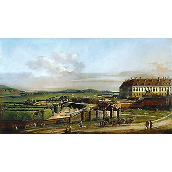 Canaletto - dorp Poster Print Giclee