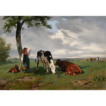 Rosa Bonheur - In the Shade Poster Print Giclee