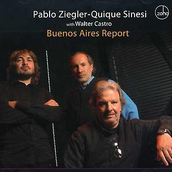 Ziegler/Sinesi - Buenos Aires rapport [CD] USA import