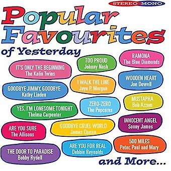 Popular Favourites of Yesterday - Popular Favourites of Yesterday [CD] USA import