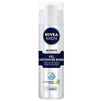 Nivea Men Sensitive Shaving Gel (Hombre , Afeitado , After shaves)