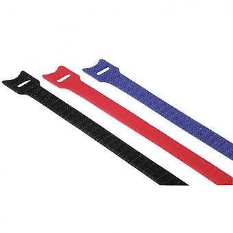 HAMA Hook Loop Velcro & 12x200mm and cable ties Colors
