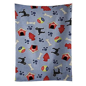Carolines Schätze BB4101KTWL Hund Haus Sammlung Labradoodle Küchentuch