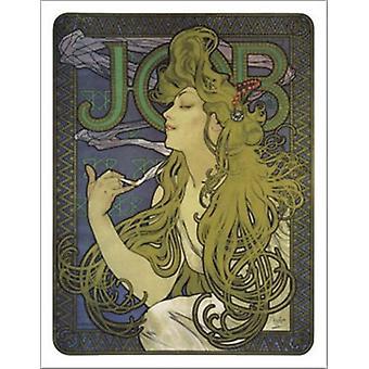 Baan 1897 - Alphonse Mucha Poster Poster afdrukken