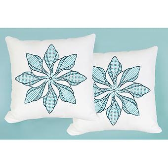 Stamped White Pillowtops 15